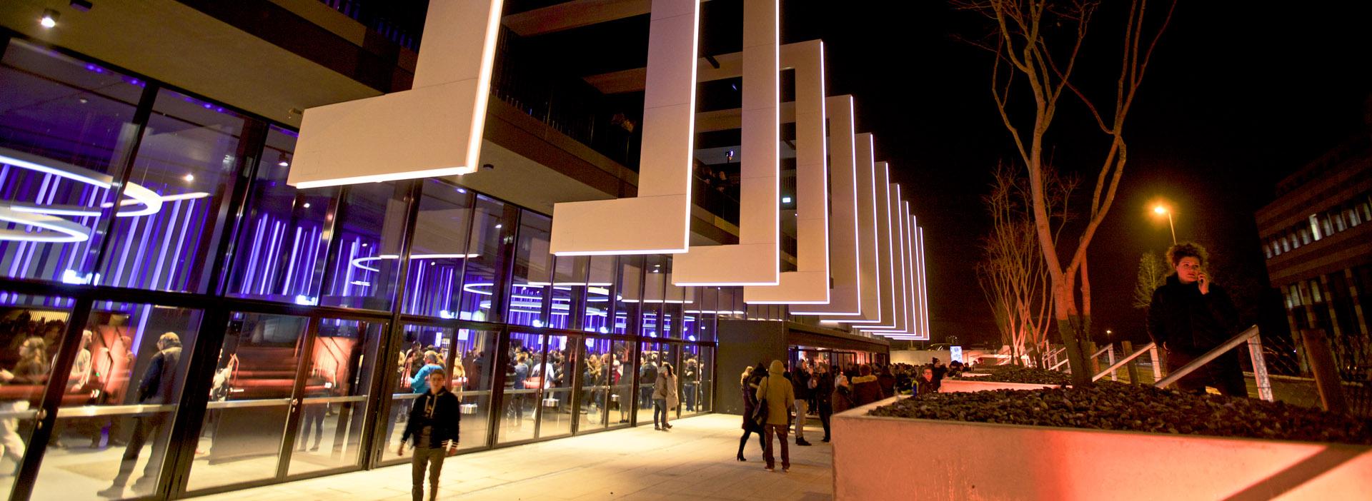 Medientechnik in der Samsung Hall Zürich