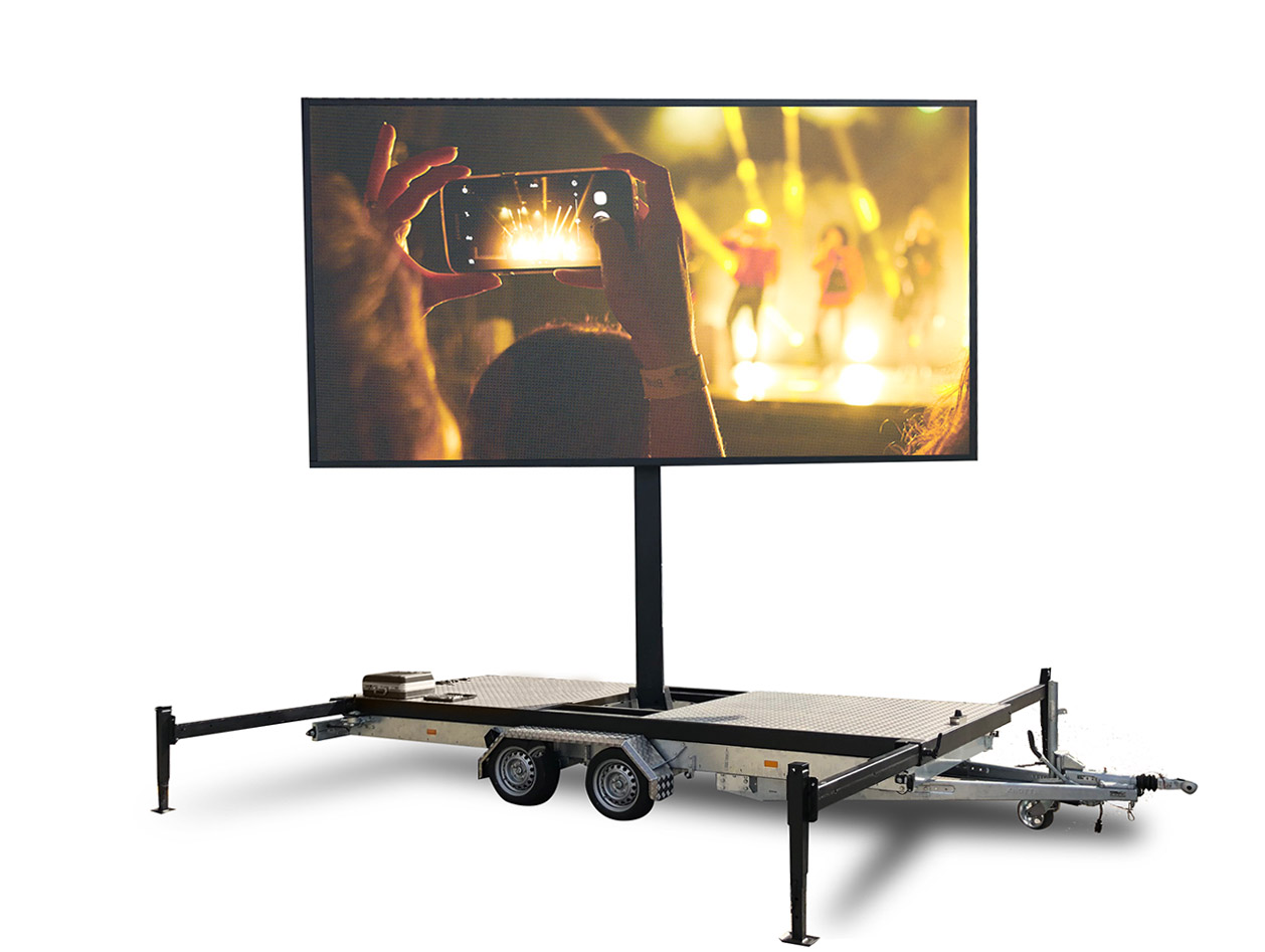 Mobile LED-Anhänger